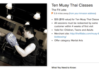 10 sessions for $35 at Sityodtong Las Vegas Muay Thai