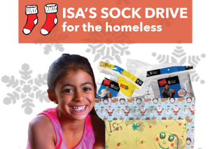 Isa's Sock Drive Banner
